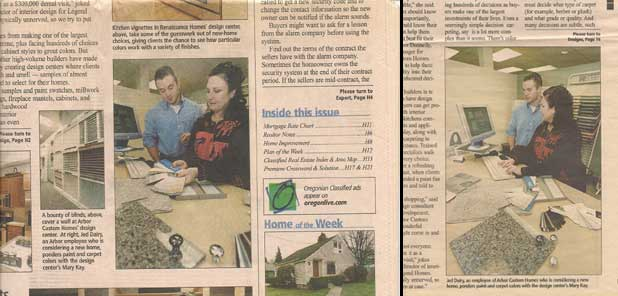 That's me, in The Oregonian Newspaper, circa 2002.